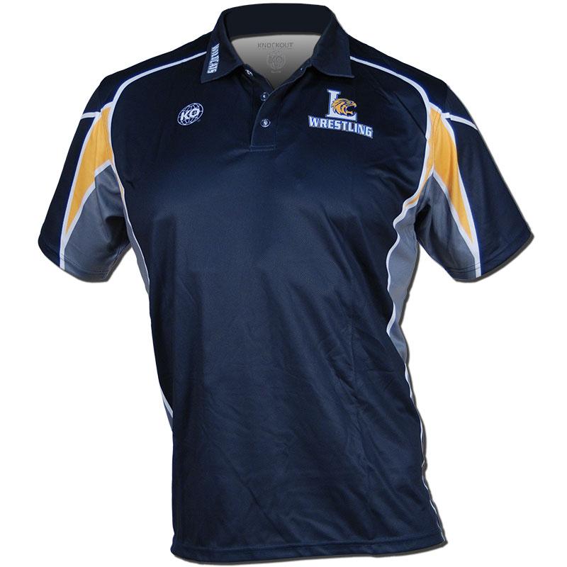 Polo shirts knockout sportswear for Soccer coach polo shirt